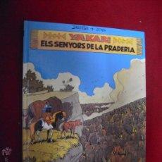 Cómics: YAKARI 13 - YAKARI ELS SENYORS DE LA PRADERA - DERIB & JOB - CARTONE - EN CATALAN. Lote 51920442