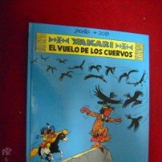 Cómics: YAKARI 114 - YAKARI EL VUELO DE LOS CUERVOS - DERIB & JOB - CARTONE. Lote 51920526