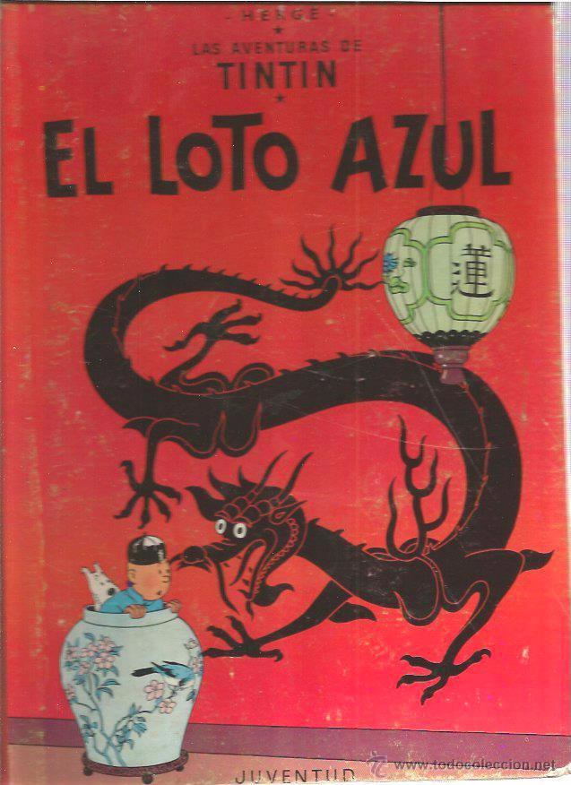 TINTIN EL LOTO AZUL 1965 (Tebeos y Comics - Juventud - Tintín)