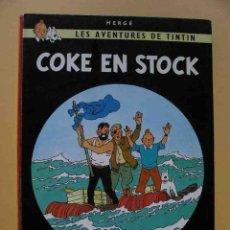 Cómics: TINTIN, COKE EN STOCK, CASTERMAN, AÑO 1958 ??, HERGÉ, BELGICA, BELGA, FRANCÉS ERCOM. Lote 102707802