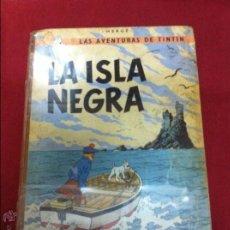 Cómics: JUVENTUD - TINTIN - LA ISLA NEGRA TERDERA EDICION DE 1969. Lote 52476093