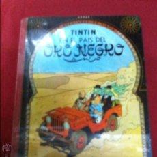 Cómics: JUVENTUD - TINTIN - EN EL PAIS DEL ORO NEGRO SEGUNDA EDICION DE 1965. Lote 52476181