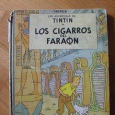 Cómics: TINTIN LOS CIGARROS DEL FARAON, 3 EDICION 1968, LEER Y VER FOTOS. Lote 52571960