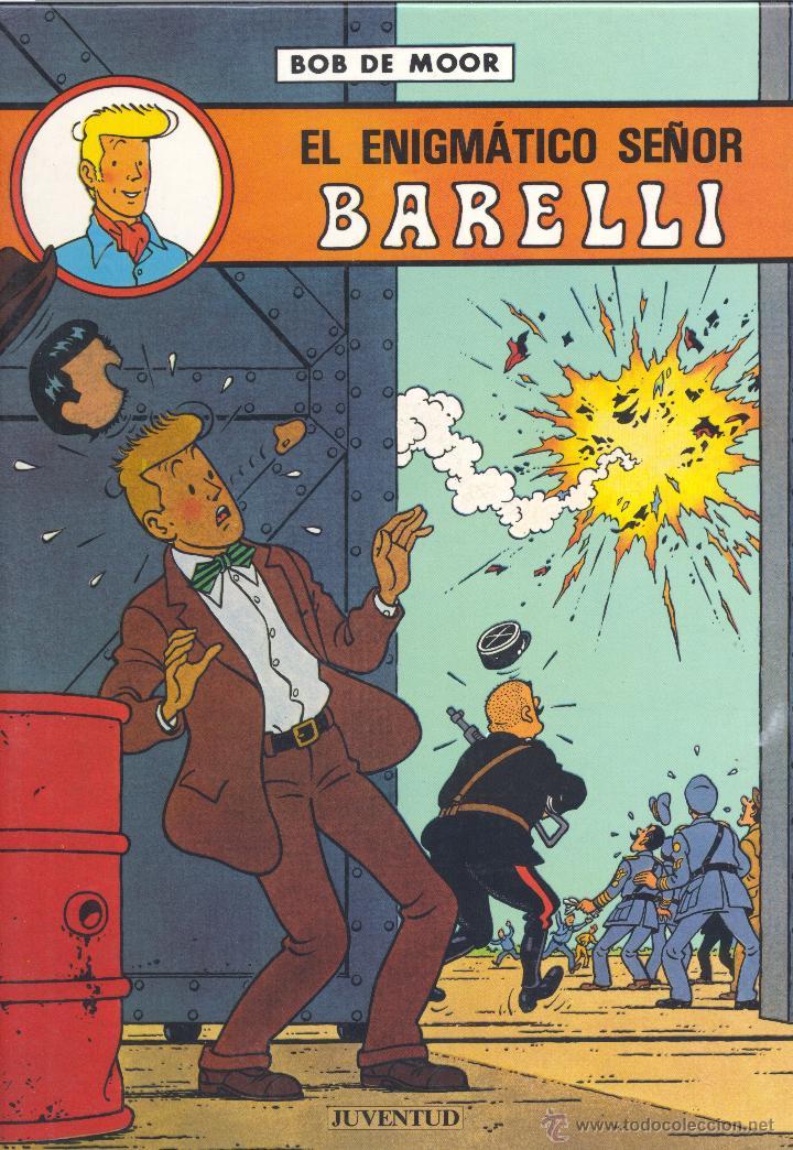 BARELLI Nº1. JUVENTUD, 1990. DIBUJOS DE BOB DE MOOR (Tebeos y Comics - Juventud - Barelli)