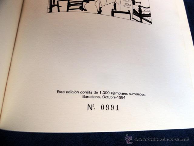 Cómics: TINTIN EN SUIZA - Charles CALLICO. 1ª edición en castellano. Numerada. Ejemplar 992 de 1000 - Foto 10 - 208415277