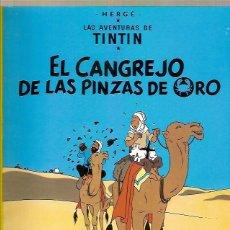 Cómics: COMIC LAS AVENTURAS DE TITNIN EL CANGREJO DE LAS PINZAS DE ORO HERGE JUVENTUD 22ª EDICION 2004. Lote 52717127