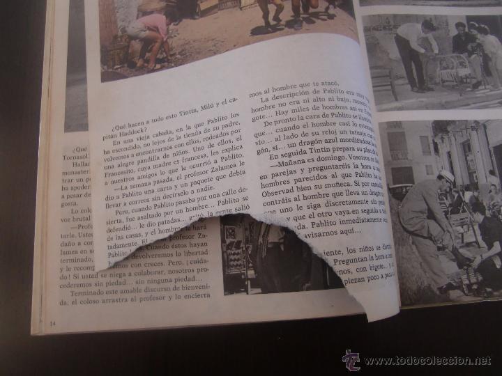 Cómics: TINTIN Y LAS NARANJAS AZULES SEGUNDA EDICION JUVENTUD - Foto 3 - 52760503