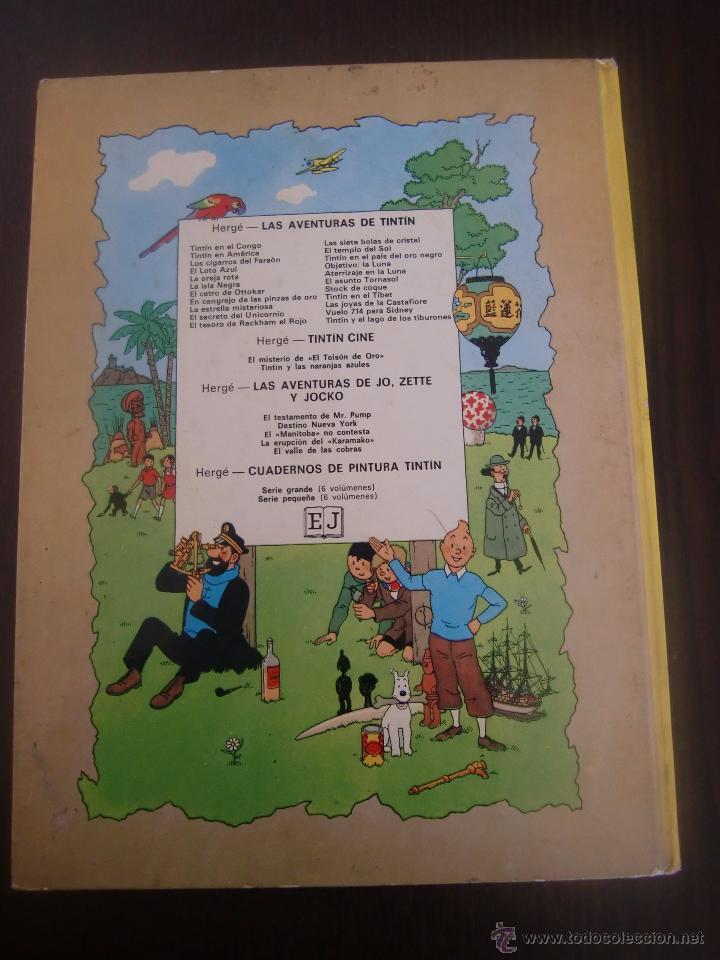 Cómics: TINTIN Y LAS NARANJAS AZULES SEGUNDA EDICION JUVENTUD - Foto 6 - 52760503