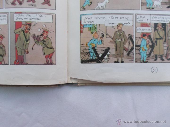 Cómics: TINTIN, EL LOTO AZUL, 1 EDICION1965, JUVENTUD, VER FOTOS PARA VER DEFECTOS - Foto 4 - 52813404