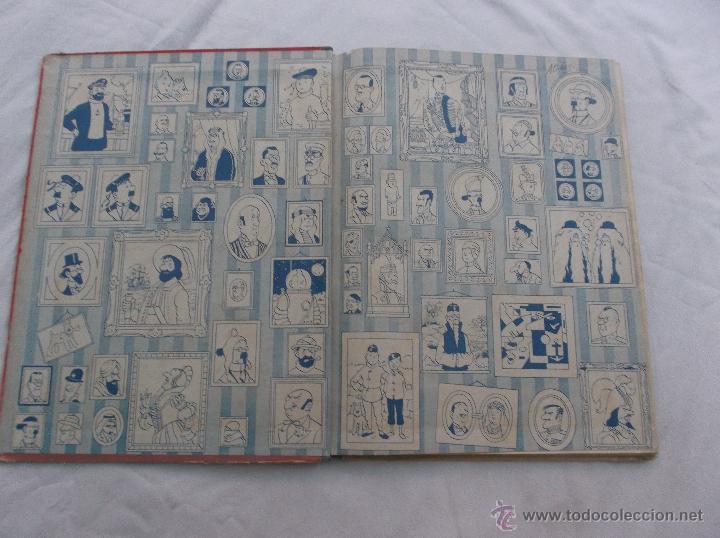Cómics: TINTIN, EL LOTO AZUL, 1 EDICION1965, JUVENTUD, VER FOTOS PARA VER DEFECTOS - Foto 5 - 52813404