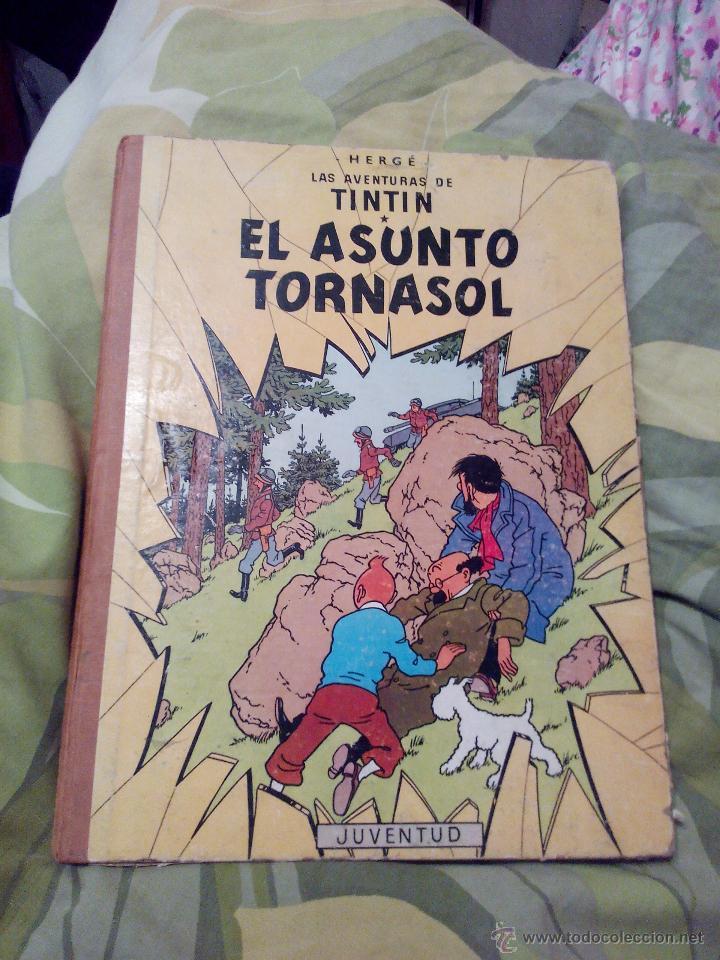 TINTIN EL ASUNTO TORNASOL. 4ª EDICIÓN JUVENTUD 1972 (Tebeos y Comics - Juventud - Tintín)