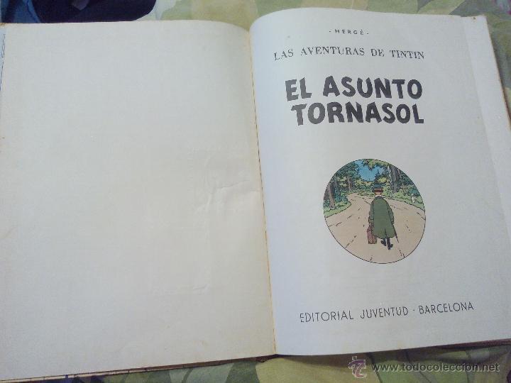 Cómics: TINTIN EL ASUNTO TORNASOL. 4ª EDICIÓN JUVENTUD 1972 - Foto 3 - 52911758