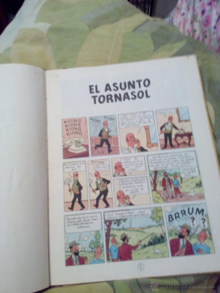 Cómics: TINTIN EL ASUNTO TORNASOL. 4ª EDICIÓN JUVENTUD 1972 - Foto 5 - 52911758