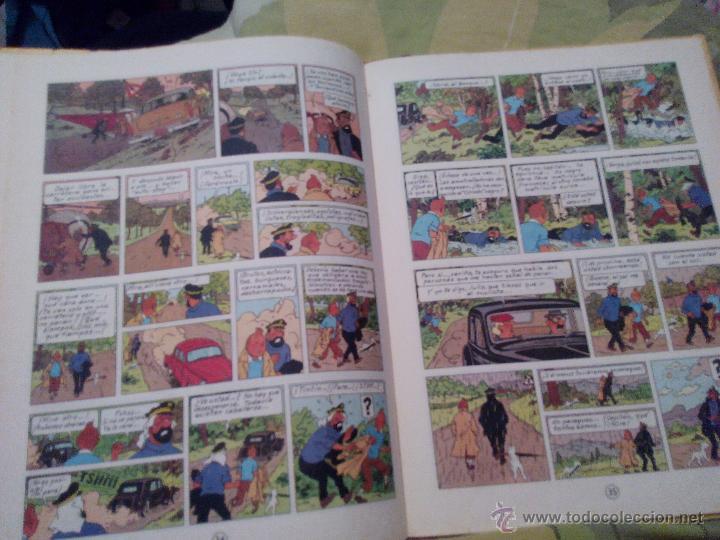 Cómics: TINTIN EL ASUNTO TORNASOL. 4ª EDICIÓN JUVENTUD 1972 - Foto 7 - 52911758
