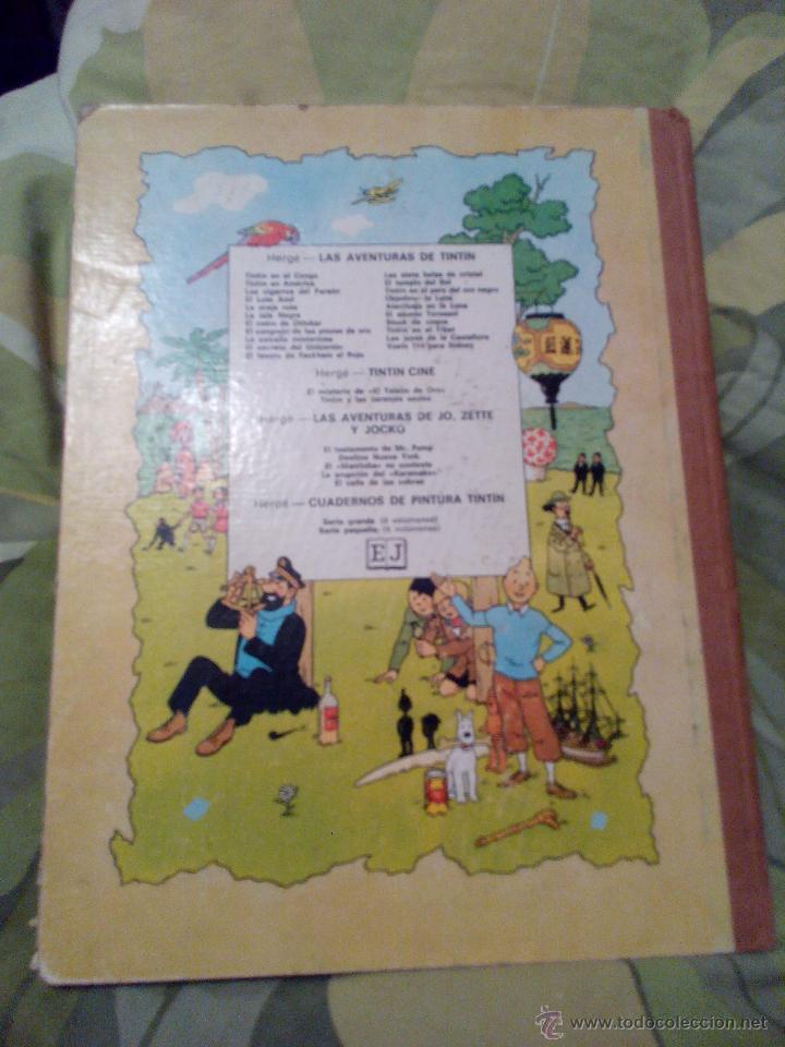 Cómics: TINTIN EL ASUNTO TORNASOL. 4ª EDICIÓN JUVENTUD 1972 - Foto 8 - 52911758