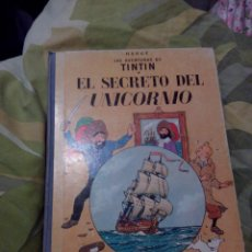 Cómics: TINTIN. EL SECRETO DEL UNICORNIO. ED. JUVENTUD. 4ª EDICIÓN. AÑO 1968.. Lote 52911971