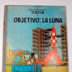 Cómics: TINTIN OBJETIVO: LA LUNA. JUVENTUD BARCELONA. EDICION 1965. Lote 52952933