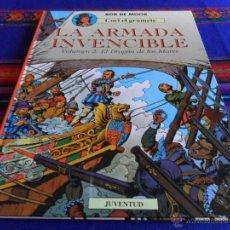 Cómics: CORI EL GRUMETE Nº 3 LA ARMADA INVENCIBLE VOLUMEN 2 EL DRAGÓN DE LOS MARES. JUVENTUD 1991. BE. RARO.. Lote 52994977