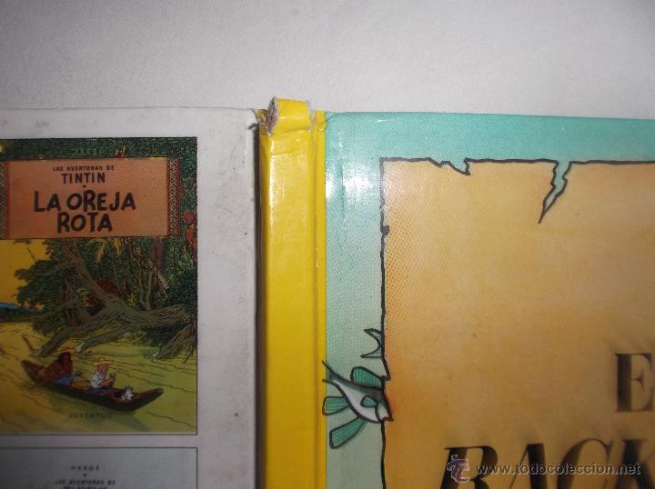 Cómics: LAS AVENTURAS DE TINTIN: EL TESORO DE RACKHAM EL ROJO. HERGE. EDITORIAL JUVENTUD, 1990 - Foto 2 - 53188700