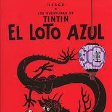 Cómics: EL LOTO AZUL TINTIN HERGE 2011 EDITORIAL JUVENTUD TAPA DURA. Lote 68812042