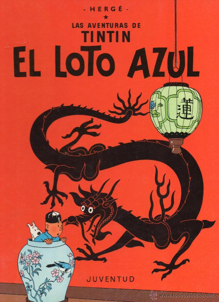 TINTIN EL LOTO AZUL (Tebeos y Comics - Juventud - Tintín)