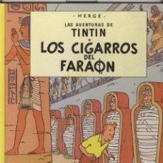 Cómics: TINTIN. LOS CIGARROS DEL FARAON. ED. JUVENTUD 1990. Lote 53310911