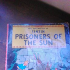 Cómics: TINTIN PRISIONERS OF THE SUN.MAGNET.1988. INGLES.. Lote 53402316