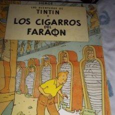 Cómics: TINTIN. LOS CIGARROS DEL FARAÓN HERGÉ. 1965. Lote 53592857