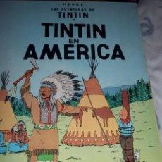 Cómics: TINTIN EN AMERICA HERGE. PRIMERA EDICIÓN 1968. Lote 53592910