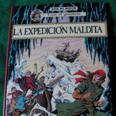 Cómics: CORI EL GRUMETE - LA EXPEDICION MALDITA - BOB DE MOOR - PRIMERA EDICION 1989 -. Lote 53774030