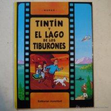 Cómics: TINTÍN Y EL LAGO DE LOS TIBURONES - HERGÉ - EDITORIAL JUVENTUD - 2011 . Lote 53850463