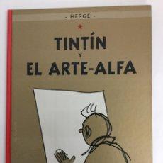 Cómics: TINTÍN 24 - TINTÍN Y EL ARTE-ALFA - HERGÉ - EDITORIAL JUVENTUD - EDICIÓN ACTUAL. Lote 117123979