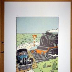 Cómics: L'ORIELLE CASSÉE - TINTIN SILKSCREEN. Lote 53919622
