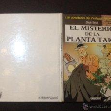 Cómics: LC 44 - PROFESOR PALMERA - MISTERIO DE LA PLANTA TAKO - JUVENTUD 1990 - MUY BUENO - REPASADO. Lote 53944890