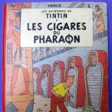 Cómics: TINTIN LE CIGARES DU PHARAON , CASTERMAN, FRANCES, IMPRESO EN BELGICA , ORGINAL. Lote 53972472