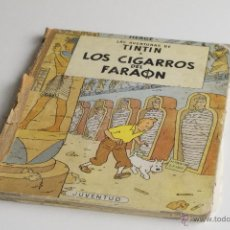 Cómics: TINTIN - LOS CIGARROS DEL FARAÓN - PRIMERA EDICIÓN 1964. Lote 54173812