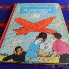 Cómics: JO ZETTE Y JOCKO EL STRATONEF H 22 1º EPISODIO EL TESTAMENTO DE MR PUMP 1ª PRIMERA ED. 1970 JUVENTUD. Lote 54250273
