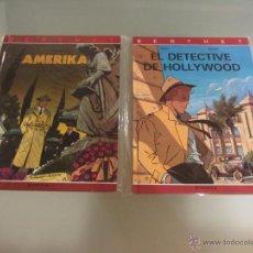 Cómics: BERTHET. COMPLETA. 2 TOMOS. JUVENTUD. AMERIKA Y EL DETECTIVE DE HOLLYWOOD. RIVIERE BOCQUET. Lote 54254220