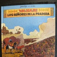 Cómics: YAKARI Nº 13 , LOS SEÑORES DE LA PRADERA , 1ª EDICIÓN 1991 , EDITORIAL JUVENTUD. Lote 54339638