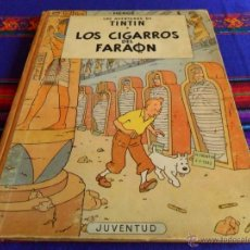 Cómics: TINTÍN LOS CIGARROS DEL FARÓN PRIMERA 1ª EDICIÓN 1964. EDITORIAL JUVENTUD. BUENO.. Lote 82350876