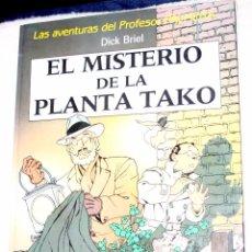 Cómics: LAS AVENTURAS DEL PROFESOR PALMERA.(DICK BRIEL): EL MISTERIO DE LA PLANTA TAKO. . Lote 54433130