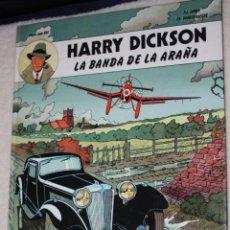 Cómics: HARRY DICKSON : LA BANDA DE LA ARAÑA (ZANÓN Y VANDERHAEGHE). BUSCADO. Lote 54433318