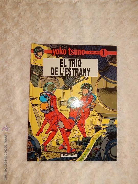 YOKO TSUNO - EL TRIO DE L`ESTRANY N. 1 - CATALA (Tebeos y Comics - Juventud - Yoko Tsuno)