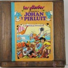 Cómics: 6892 - LOS PITUFOS JOHAN Y PIRLUIT. ANNA PALÉ. EDIT. BRUGUERA. 1983.. Lote 51475646