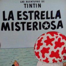 Cómics: LAS AVENTURAS DE TINTIN LA ESTRELLA MISTERIOSA 1985. Lote 54949954