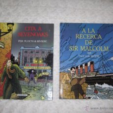 Cómics: A LA RECERCA DE SIR MALCOLM - CITA A SEVENOAKS - COL LECCIO COMPLETA -CATALA. Lote 201507136