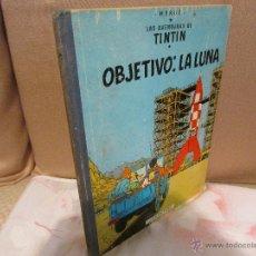 Cómics: TINTIN OBJETIVO : LA LUNA - EDICIÓN 1965. Lote 55011705