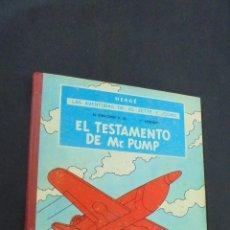 Cómics: LAS AVENTURAS DE JO, ZETTE Y JOCKO - EL TESTAMENTO DE MR. PUMP - 1ª PRIMERA EDICION - JUVENTUD - . Lote 55113383