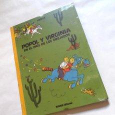 Cómics: POPOL Y VIRGINIA OREJUDOS. HERGÉ-TINTÍN. PRECINTADO DE IMPRENTA. LOMO TELA 1ª Y ÚNICA EDICIÓN. Lote 294035613
