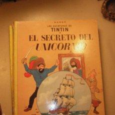 Cómics: JUVENTUD - TINTIN - EL SECRETO DEL UNICORNIO 1983. Lote 136046486